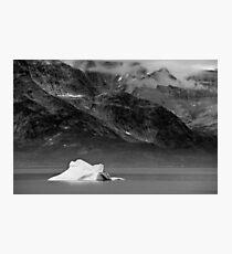 A lone Iceberg Photographic Print