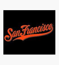 SAN FRANCISCO GIANTS Photographic Print