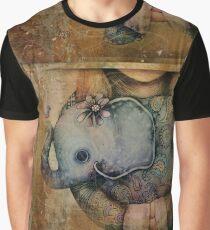 Paisley Elephant Graphic T-Shirt