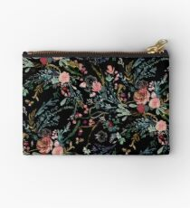 Midnight Floral Studio Pouch