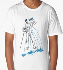 Fencing Post Workout Humor Long T-Shirt