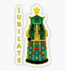 Jubilate v2 Sticker