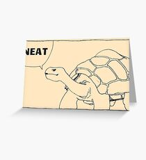 A Neat Turtle Greeting Card