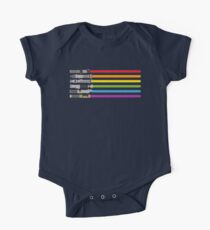 Lightsaber Rainbow One Piece - Short Sleeve