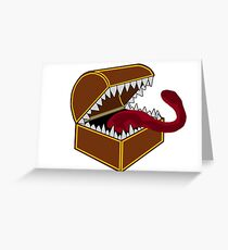 It's not a chest? Greeting Card
