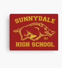 Sunnydale High Canvas Print
