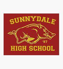 Sunnydale High Photographic Print