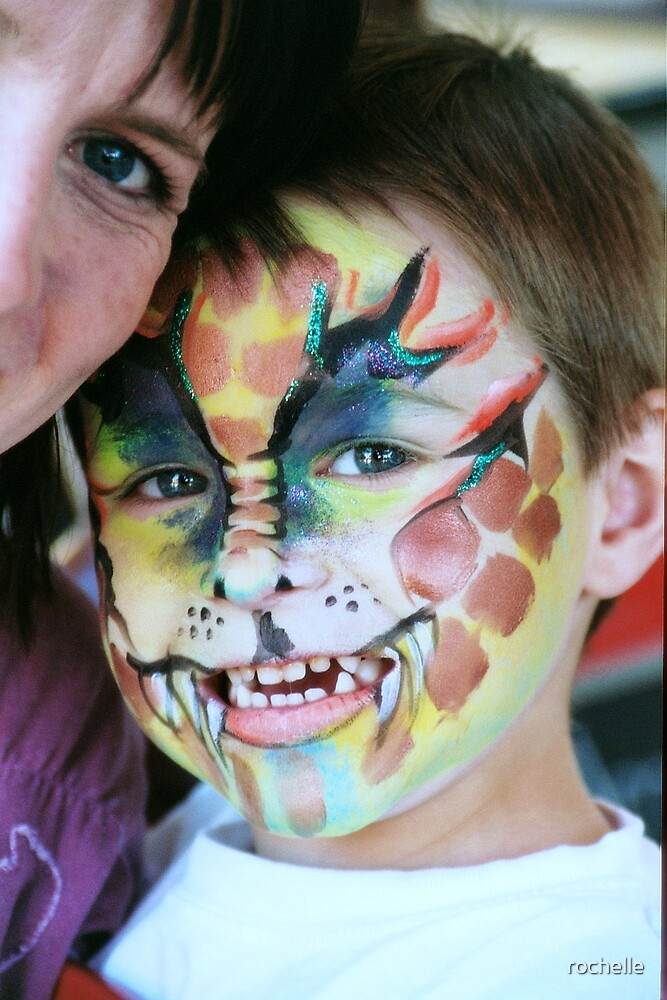 The simple joy of face painting by rochelle