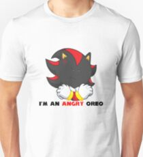 Angry Shadow Cookie  Unisex T-Shirt