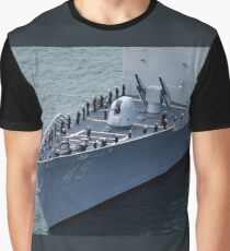 USS Vincennes (CG-49) Bow Graphic T-Shirt