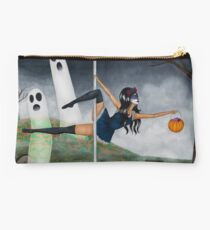 Poletober 31 - Trick or Treat/Day of the Dead / October 2017 Studio Pouch