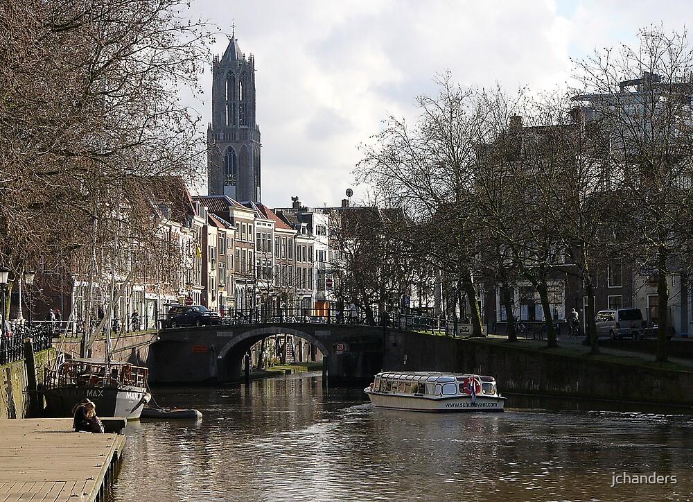 Leaving old Utrecht by jchanders
