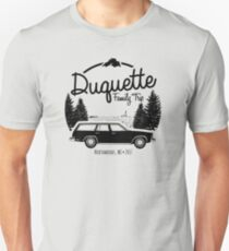 Duquette Family Vacation 2017 - Black Ink Unisex T-Shirt