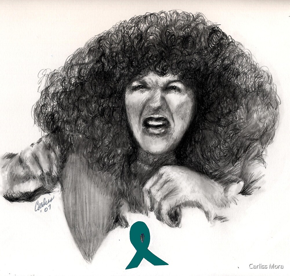 Did This Come Outta Me? - Gilda Radner as Roseanne Rosanadana by Carliss Mora