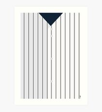 Baseball - NY Yankees Art Print