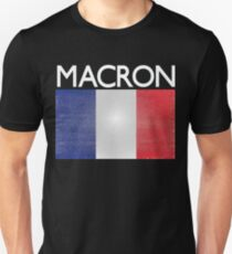 Macron French Presidential Election Victory Unisex T-Shirt
