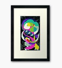 Squid No. 4 - Shapes Framed Print