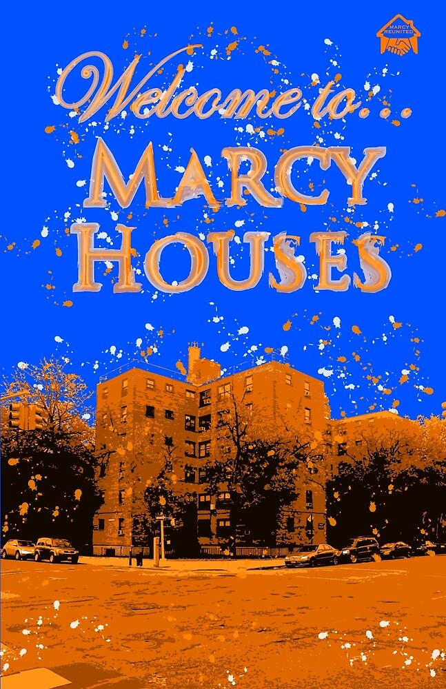 Welcome to Marcy House (Splatter) by Glenda-J