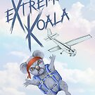 Extreme Koala - Skydiver by Colin Wells