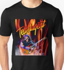 TED DERITA NUGENT 2017 TOUR T-Shirt