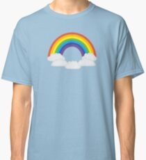 Rainbow Clouds Pattern Classic T-Shirt