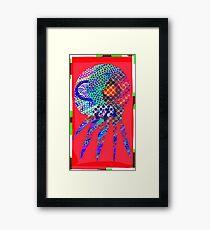 Squid No. 7 - Paper Lanterns Framed Print