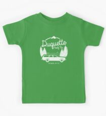 Duquette Family Vacation 2017 - White Ink Kids Tee