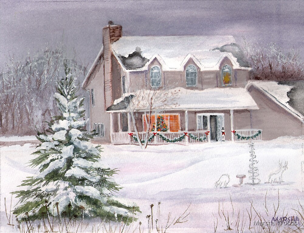 Christmas in Wisconsin by Marsha Woods