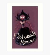 Flatwoods Monster Art Print