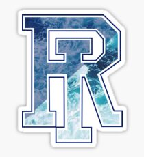 University of Rhode Island - ocean waves Sticker