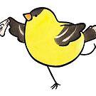 Fancy Goldfinch by joannahunt