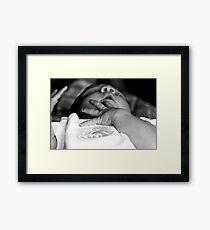 Precious Hands Framed Print