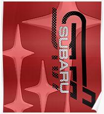 STI STARS RED Poster