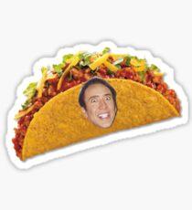 I'M A TACO I'M A TACO I'M A TACO Sticker