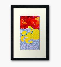 Squid No. 9 - The Perks of Shag Carpeting Framed Print