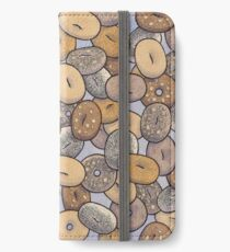 Everything Bagels iPhone Wallet