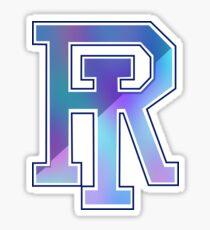 University of Rhode Island - color blur Sticker