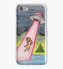 Otter Abduction iPhone Case/Skin
