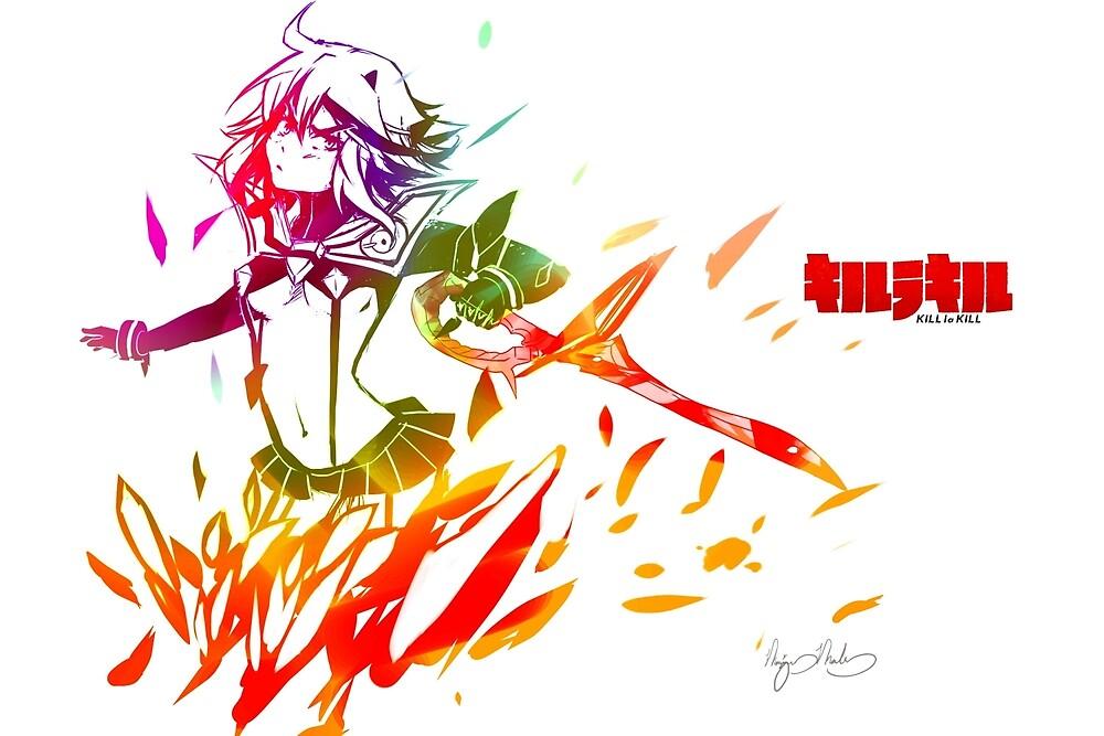 Kill la Kill Ryuko by Kyuupeach