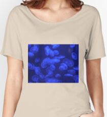 The Moon Jellyfish Women's Relaxed Fit T-Shirt