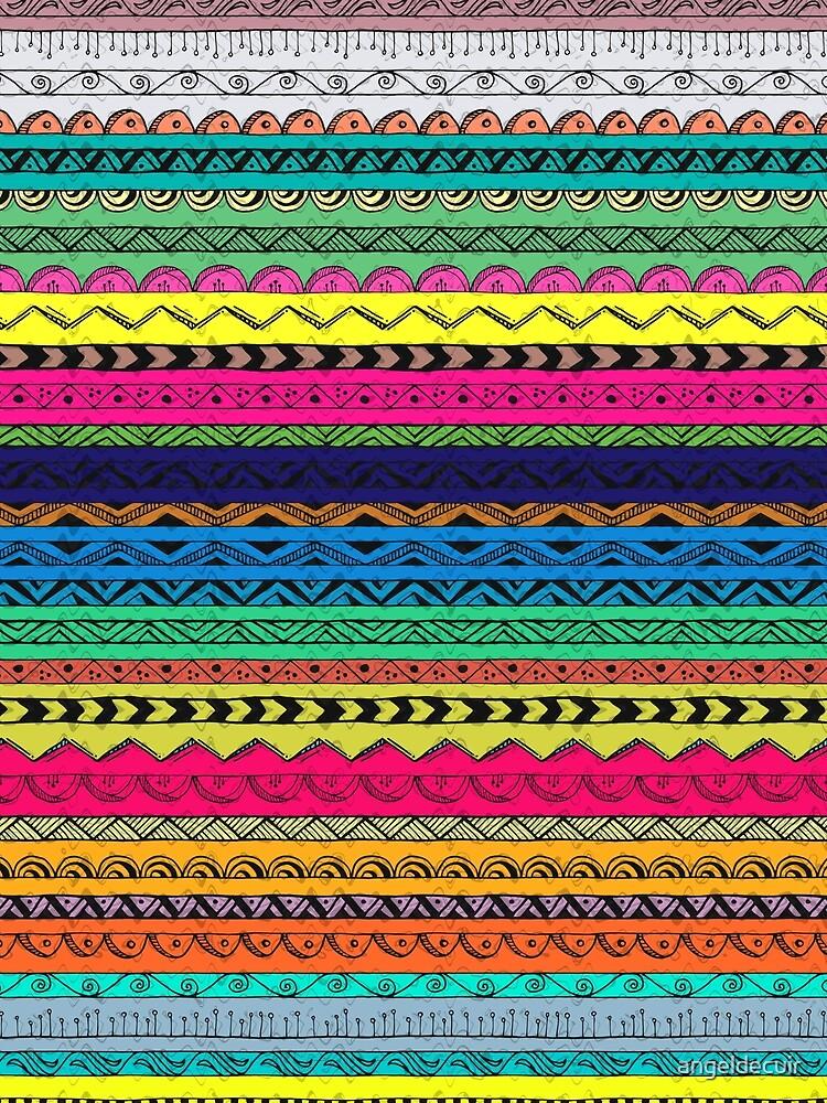 Multi Color Pattern by angeldecuir