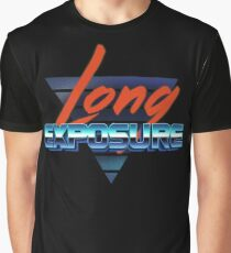 80s long exposure logo Graphic T-Shirt