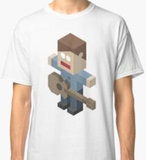 Isometric Guitarist Classic T-Shirt