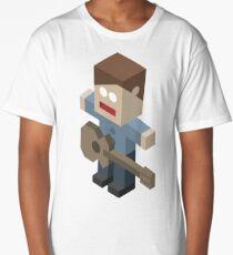 Isometric Guitarist Long T-Shirt