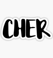 CHER Sticker