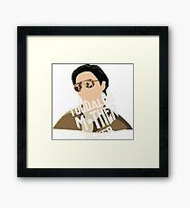 Mr Chow - Hangover  Framed Print