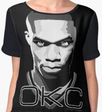 OKC Chiffon Top