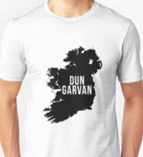 Dun Garvan, Ireland Silhouette Unisex T-Shirt