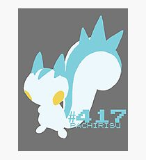 PACHIRISU! POKEMON Photographic Print