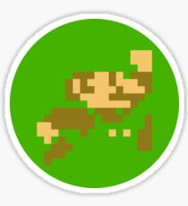 8-bit Bros. ver.green Sticker